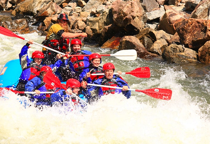 CLEAR CREEK RIVER RAFTING